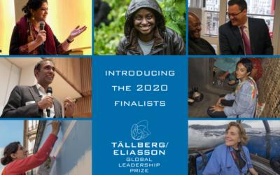 Announcing the 2020 Tällberg Eliasson Global Leadership Prize Finalists